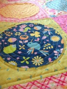 Wildflower Meadow Circle Quilt